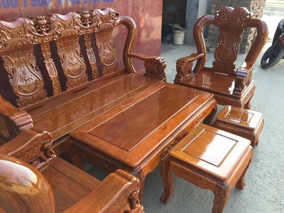 gỗ lim sét trong nội thất