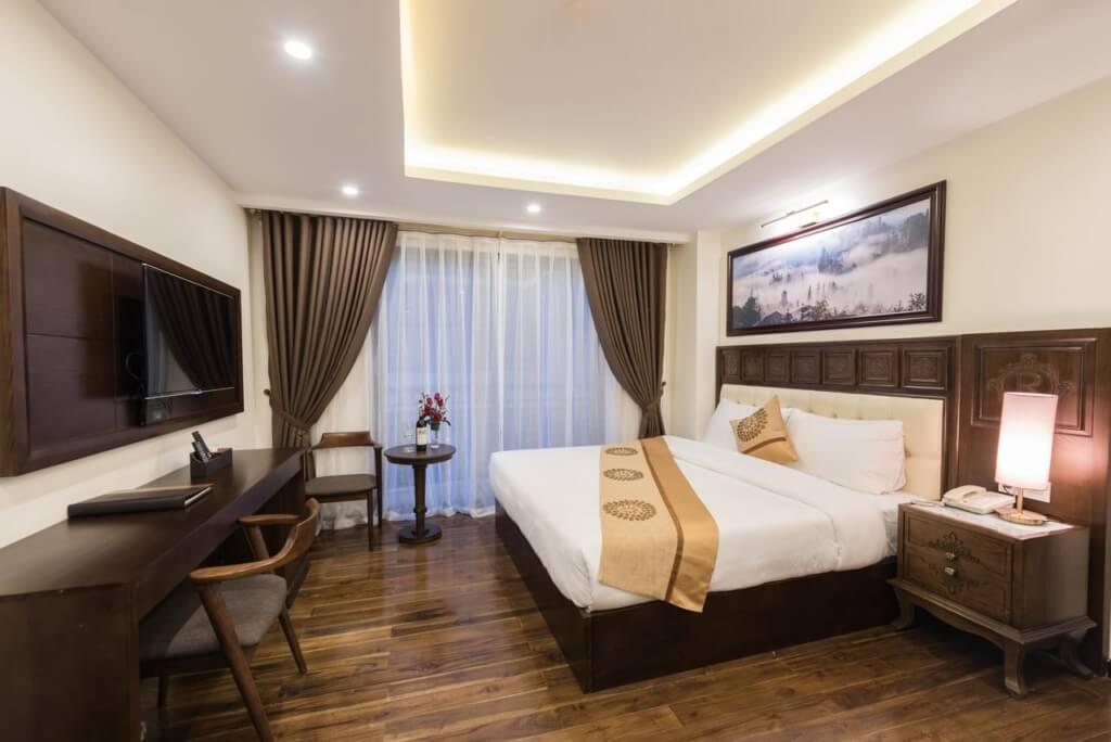phong ngu noi that khach san relax hotel sapa 1024x684 - 3 kiểu nội thất phòng ngủ đẹp, hiện đại mà bạn nên quan tâm.