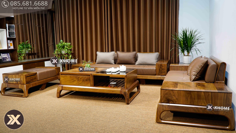 sofa go oc cho sf28 15 - Cách lựa chọn nội thất gỗ hiện đại đúng chuẩn cho gia đình