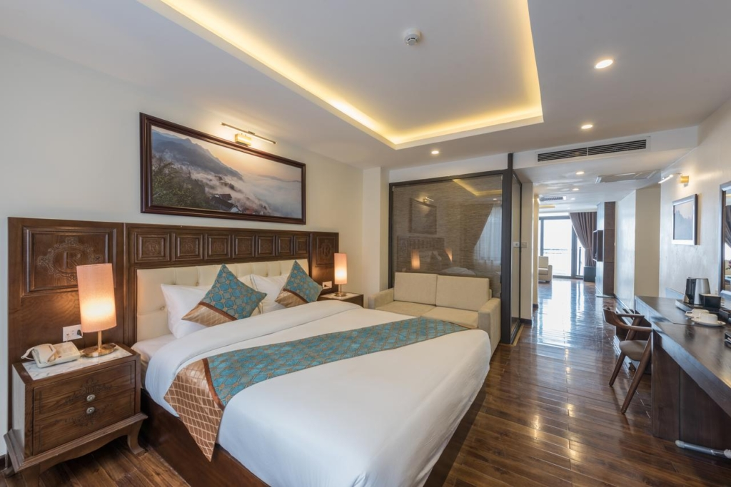thi cong noi that khach san 4 sao relax hotel sapa spa 11 - Dự án thi công nội thất khách sạn 4 sao Sapa Relax Hotel & Spa