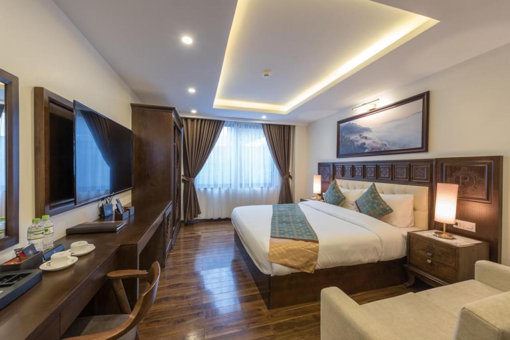 thi cong noi that khach san 4 sao relax hotel sapa spa 12 - Phòng ngủ Master là gì? 3 lưu ý khi thiết kế nội thất phòng ngủ