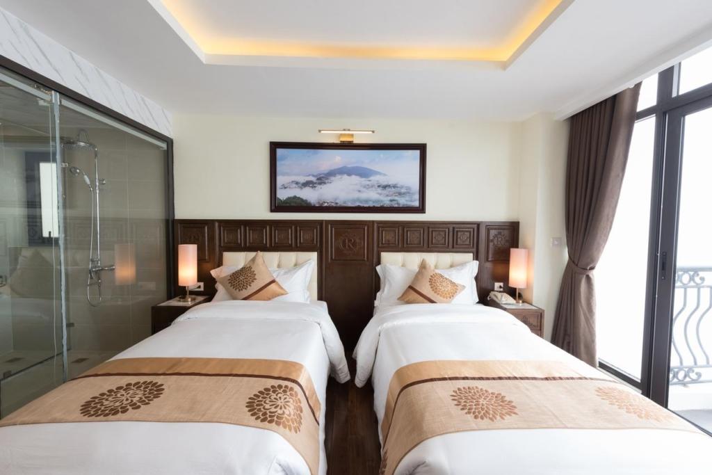 thi cong noi that khach san 4 sao relax hotel sapa spa 13 - Kích thước phòng ngủ hợp phong thủy theo lỗ ban