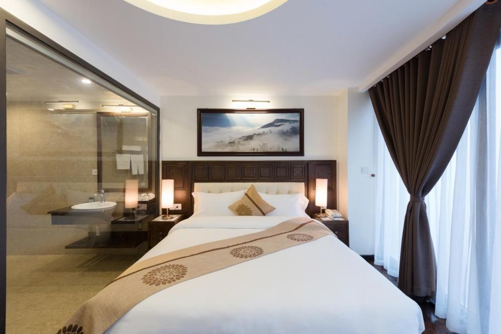 Kích thước giường ngủ gỗ phù hợp với không gian