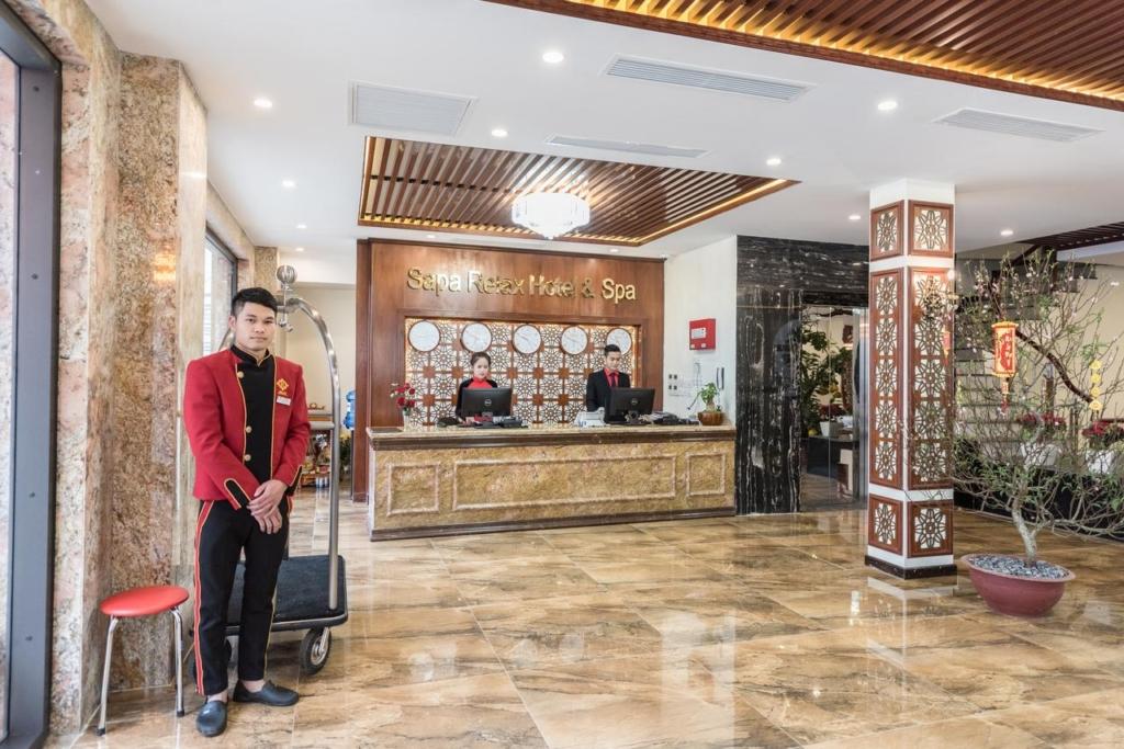 thi cong noi that khach san 4 sao relax hotel sapa spa 8 - Dự án thi công nội thất khách sạn 4 sao Sapa Relax Hotel & Spa