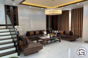 Thiết kế và thi công nội thất gỗ biệt thự cao cấp của Chị Linh