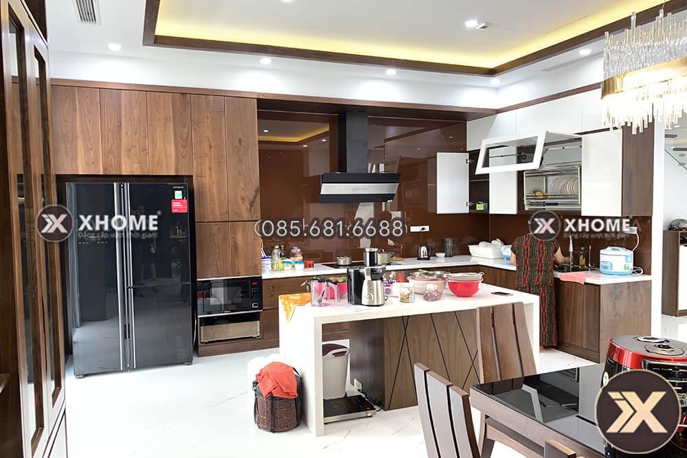 thi cong va thiet ke noi that go chung cu cao cap cua chi Linh 5 - Bí quyết thiết kế nội thất căn hộ 100m2 đẹp, hiện đại
