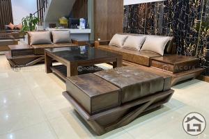 Sofa gỗ đẹp, hiện đại SF29