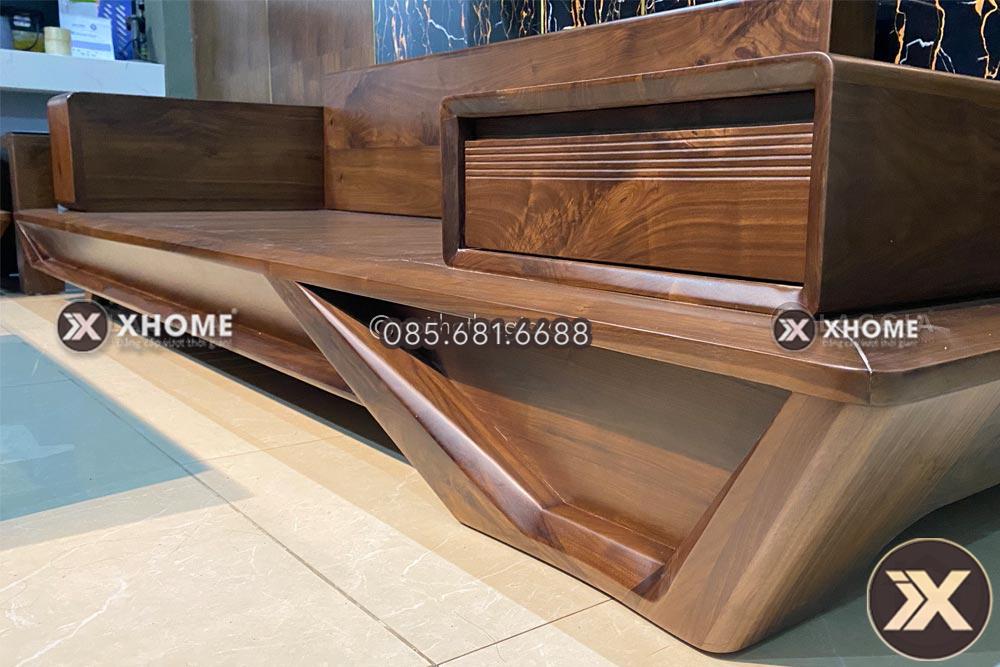 sofa go soi nga sf29 14 - 3 Lý do khiến bạn không nên vệ sinh sofa gỗ bằng chất tẩy rửa