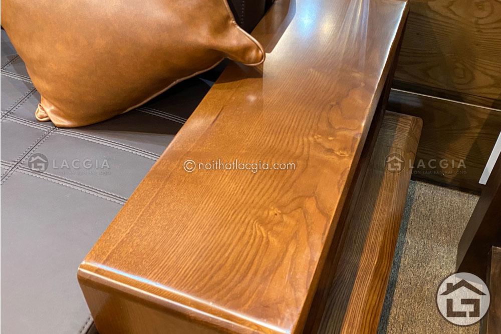 Chất liệu gỗ sồi nga cao cấp nhập khẩu tại Bắc Mỹ