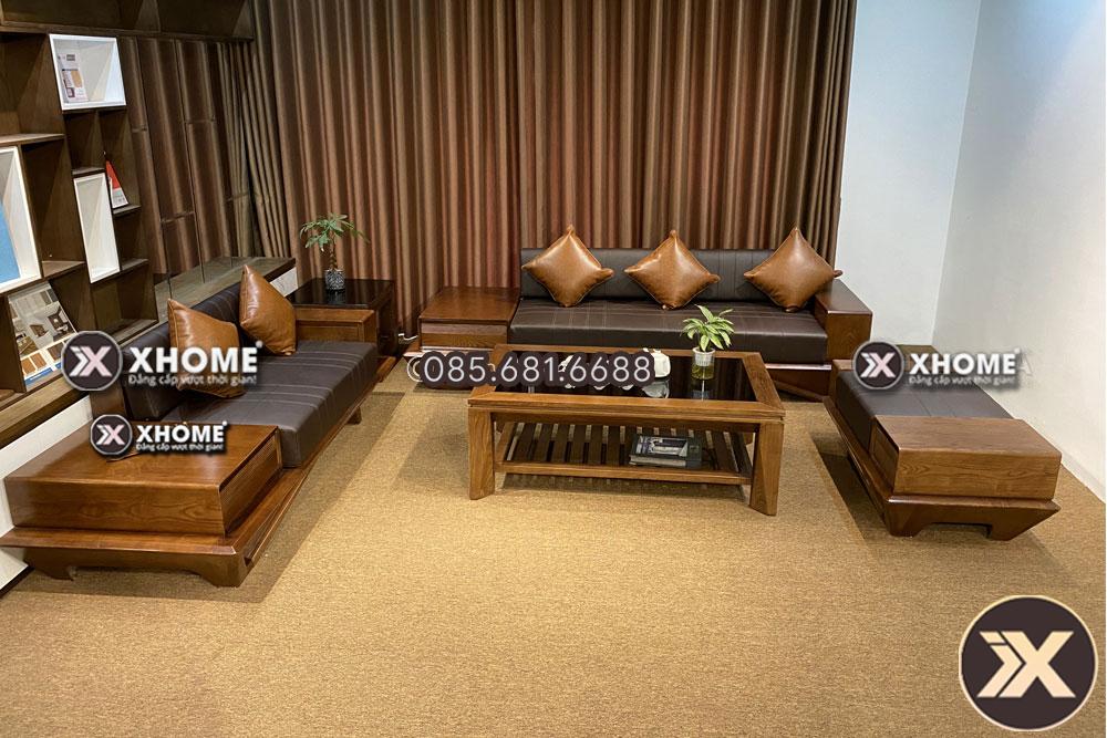 sofa go soi nga sf29 5 - 5 câu hỏi thường gặp về bộ sofa gỗ sồi cho phòng khách