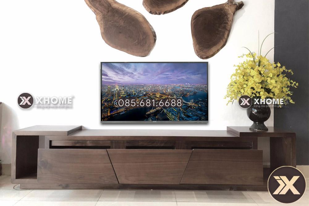Kệ tivi gỗ óc chó cao cấp KTV29
